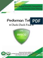 Pedoman Teknis Detik-Detik Final IMSCO 2017