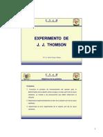 Experimento Thomson
