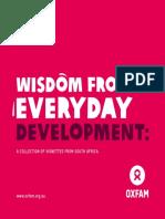 Wisdom from Everyday Development