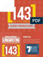143 Chord Progressions To Learn or Know