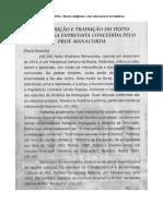 Manacorda - Aos Educadores Brasileiros
