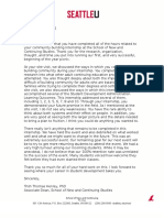 artifact d letter of professional promise