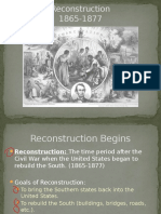 reconstruction lecture