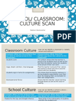 school classroom culture