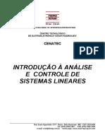Introdução a Analise e Controle de Sistemas Lineares - SENAI - MG