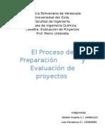 Evaluacion de Proyecto