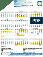 Calendario Academico2017