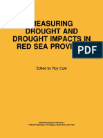 Measuring Drought and Drought Impacts in Red Sea Province