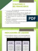 Razones Financieras-Presentación