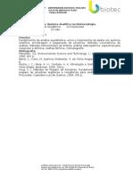 Quimica Analitica Na Biotecnologia