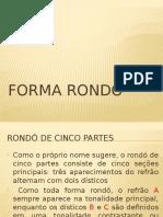 Forma Rondó