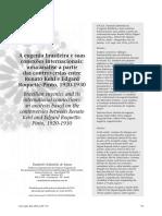 A eugenia no Brasil e Suas Conexões Internacionais