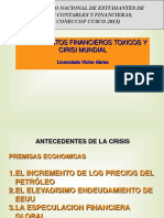 Instrumentos Financieros y Crisis Mundial (1)