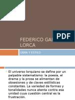 FEDERICO GARCÍA LORCA y su teatro (2003)
