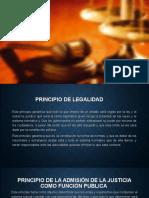 Principios del derecho jurisdiccional o procesal Colombiano