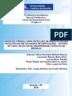 Inspeção Predial Para Detecção de Manifestações Patológicas Em Fachadas de Edificações Estudo de Caso Bloco m Da Universidade Católica de Brasília
