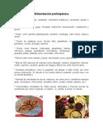 Alimentación prehispánica