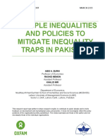 Multiple Inequalities and Policies to Mitigate Inequality Traps in Pakistan
