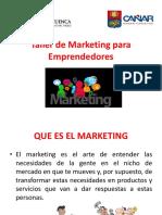 Diapositivas de Marketing Para Emprendedores i