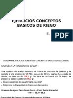 Ejercicios Conceptos Basicos de Riego