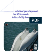 Lifeboat Release and Retrieval Systems Guidance for Shipowners