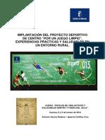 Ver Proyecto Deportivo