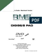 RME Digi96/8 PAD (Mac)