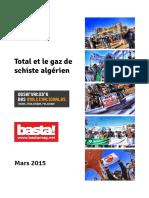Total Et Le Gaz de Schiste Algerien Rapport 6mars2015 Basta Observatoire