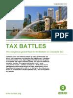 Tax Battles