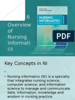 Chapter 6 Overview of Nursing Informaticsstudent