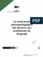 6 Diseño PCA Para Alumnos Con Problemas de Lenguaje