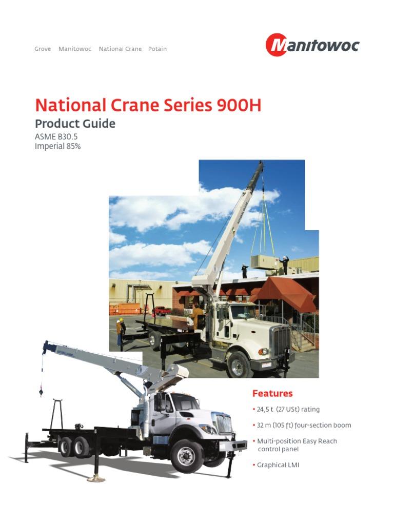 900H Product Guide Imperial   Crane (Machine)   Truck