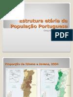 Estrutura Etária Pop. Port