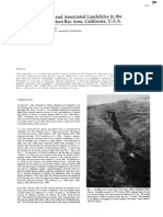 1980 Colluvial Deposits and Associated Landslides