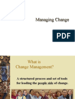 Change Management Short