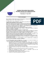 Contrato Pedagogico Luis Rodrigo Alvarez Matematica I
