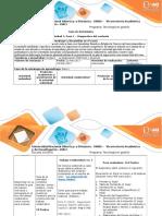 Guía de Actividades y Rúbrica de Evaluación - Paso 1 - Diagnostico Contexto