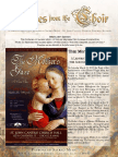 2017 Spring Newsletter Patrons of Sacred Music for Web