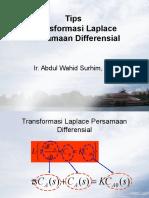 Tips Transformasi Laplace Pers Differensial