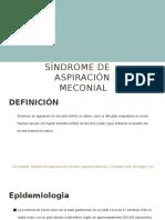 Síndrome de Aspiración Meconial