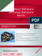 PPT Gasifikasi Batubara