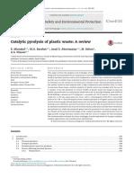 Miandad Catalytic Pyrolysis of Plastic Waste
