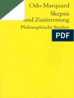 Odo Marquard-Skepsis und Zustimmung. Philosophische Studien  -Reclam (1994).pdf