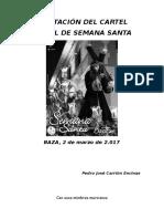 Exaltacion Cartel Semana Santa de Baza 2017 Pedro Carrión