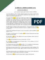 Cronología Bíblica - SBIA