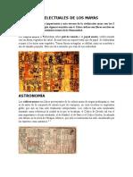 Avances Intelectuales de Los Maya1