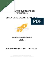 Cuadernillo de Ciencias