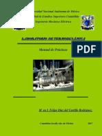 Manual Practicas Laboratorio Termodinamica 2017 1