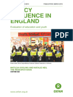 Policy Influence in England