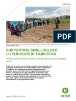 Supporting Smallholder Livelihoods in Tajikistan